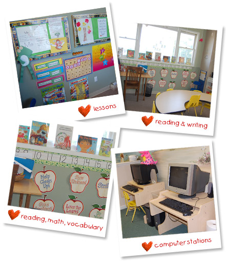 Tenderhearts Preschool: Kindergarten Enrichment Classroom