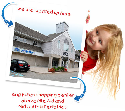 We are Located Above Mid-Suffolk Pediatrics In the King Kullen Shopping Center